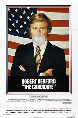 The Candidate (1972 film) - Theatrical poster