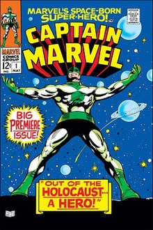 captain marvel comics vf