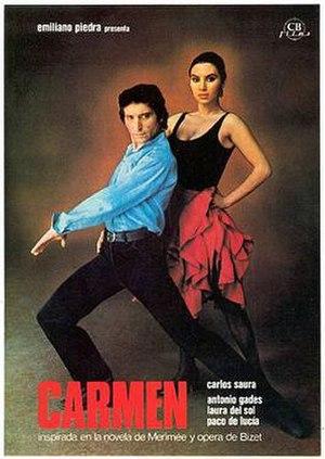 Carmen (1983 film) - Spanish film poster