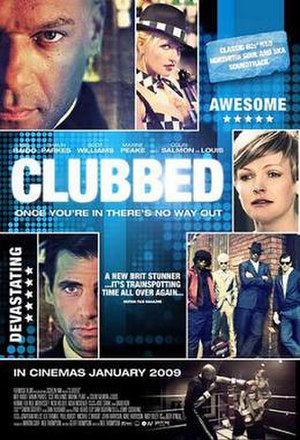 Clubbed - Theatrical release poster
