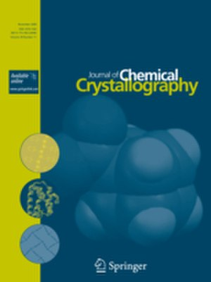 Journal of Chemical Crystallography - Image: Cover Issue J Chem Crystallogr