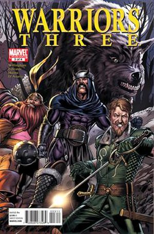 Fenris Wolf (Marvel Comics) - Image: Cover of Warriors Three 3