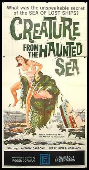 Creature from the Haunted Sea - Theatrical release poster