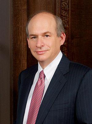 David Leebron - Official university portrait