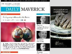 Daily Maverick - Daily Maverick screenshot on 29 March 2013