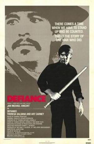 Defiance (1980 film) - Image: Defiance Film Poster