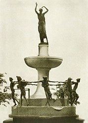 Bitter's Design of the Depew Memorial Fountain