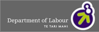 Department of Labour (New Zealand) - Image: Dol NZ
