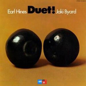Duet! - Image: Duet! (Earl Hines and Jaki Byard album)
