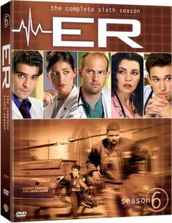 <i>ER</i> (season 6) Season of television series