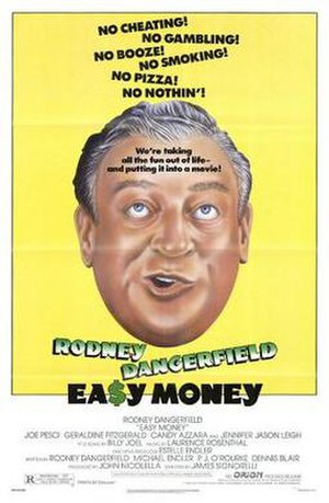 Easy Money (1983 film) - Theatrical release poster