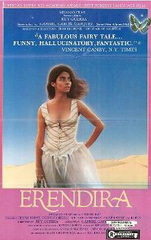 Eréndira (film) - Theatrical release poster