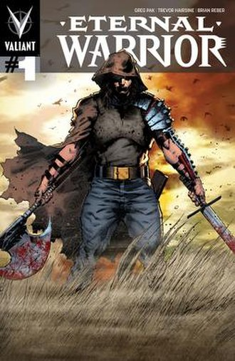 Eternal Warrior - Eternal Warrior. Art by Trevor Hairsine