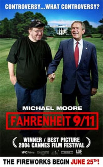 Fahrenheit 9/11 - Theatrical release poster