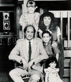 Family Man (U.S. TV series) - Family Man cast. Clockwise, from top left: Sweeney, Kennedy, Hertford, Gallagher and Libertini.