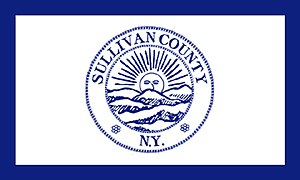 Sullivan County, New York - Image: Flag of Sullivan County, New York