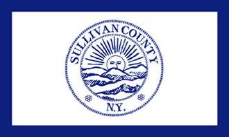 Sullivan County, New York - Image: Flag of Sullivan County, New York