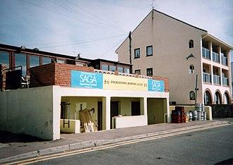 Sandgate, Kent - Image: Folkestone Rowing Club