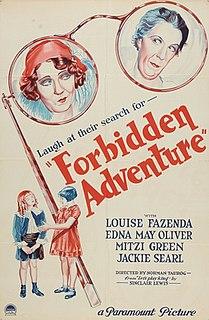 <i>Forbidden Adventure</i> 1931 film