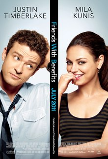 Theatrical release poster of Friends with Benefits