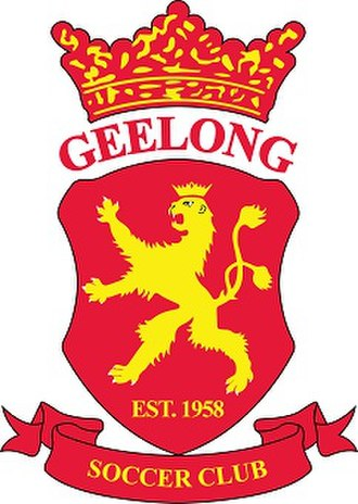 Geelong SC - Image: Geelong Soccer Club Logo