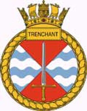 HMS Trenchant (S91) - Image: HMS Trenchant crest