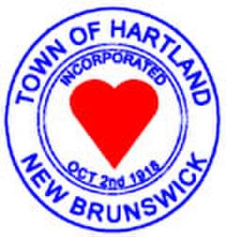 Hartland, New Brunswick - Image: Hartland NB seal