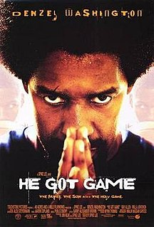 <i>He Got Game</i> 1998 film directed by Spike Lee