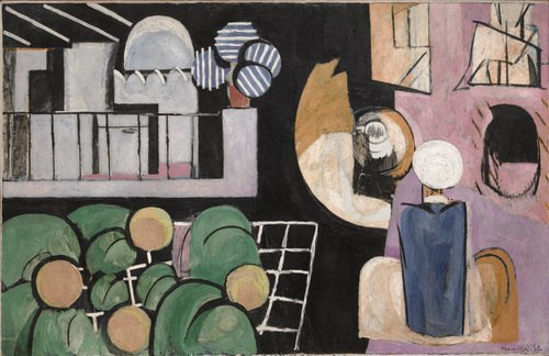 Henri Matisse, 1915-16, The Moroccans, oil on canvas, 181.3 x 279.4 cm, Museum of Modern Art