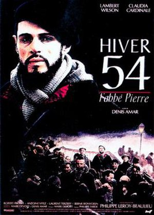 Hiver 54, l'abbé Pierre - Theatrical release poster
