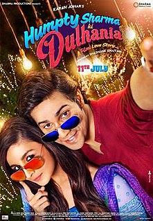 <i>Humpty Sharma Ki Dulhania</i> 2014 film by Shashank Khaitan