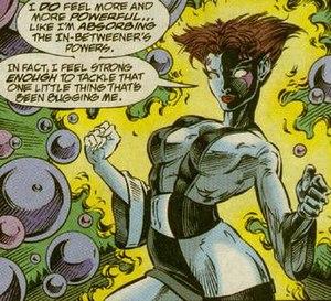 Blink (comics) - Blink as the In-Betweener