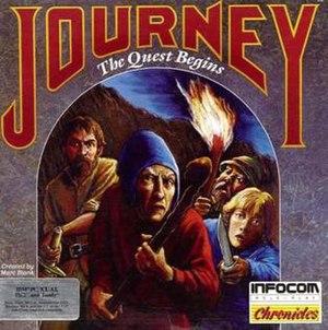 Journey (1989 video game) - Image: Infocom Journey box art