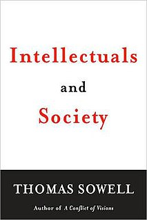 <i>Intellectuals and Society</i> book by Thomas Sowell