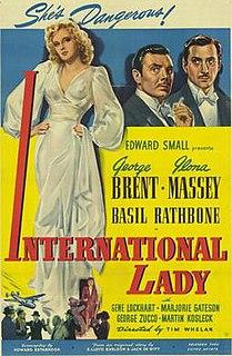 <i>International Lady</i> 1941 film by Tim Whelan