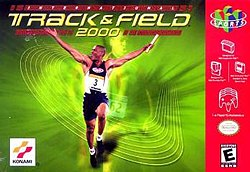 International Track & Field 2000 box art.