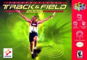 International Track & Field 2000 - North American Nintendo 64 cover art