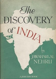 <i>The Discovery of India</i> Book by Jawaharlal Nehru, first Prime Minister of India