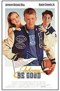 <i>Johnny Be Good</i> 1988 film by Bud S. Smith