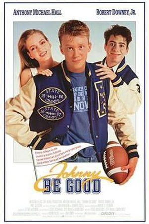 Johnny Be Good - Theatrical release poster