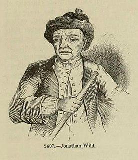 Jonathan Wild 18th century English criminal