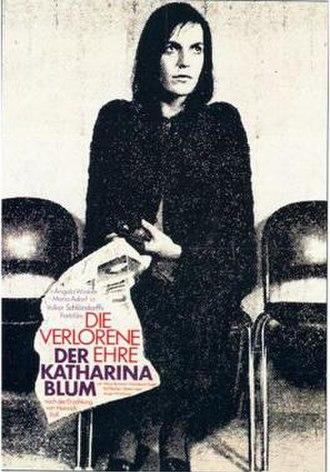 The Lost Honour of Katharina Blum (film) - Image: Katharinablum