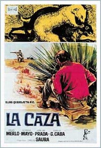 La caza - Spanish film poster