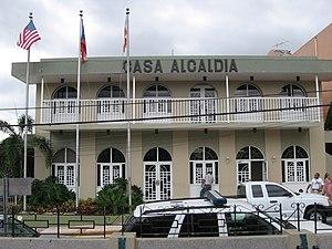 Lares, Puerto Rico - Casa Alcaldia de Lares (Lares City Hall), July 2007