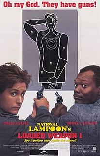 <i>Loaded Weapon 1</i> 1993 US comedy film directed by Gene Quintano