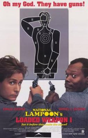 Loaded Weapon 1 - Theatrical release poster