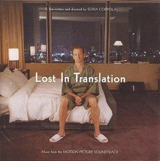 Lost in Translation (soundtrack) - Image: Lost in Translation OST cover