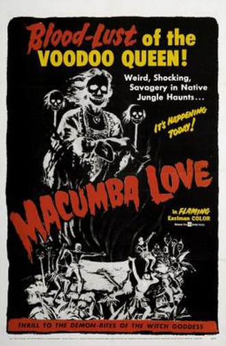 Macumba Love - Theatrical release poster