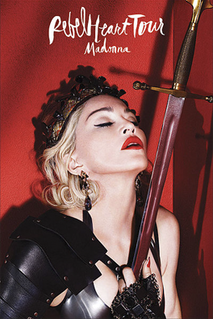 2015–16 worldwide concert tour by Madonna