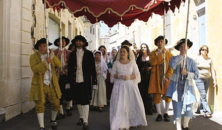 Re-enactment of a traditional Maltese 18th century wedding Maltesewedding.jpg